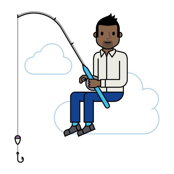 SaaS fishing