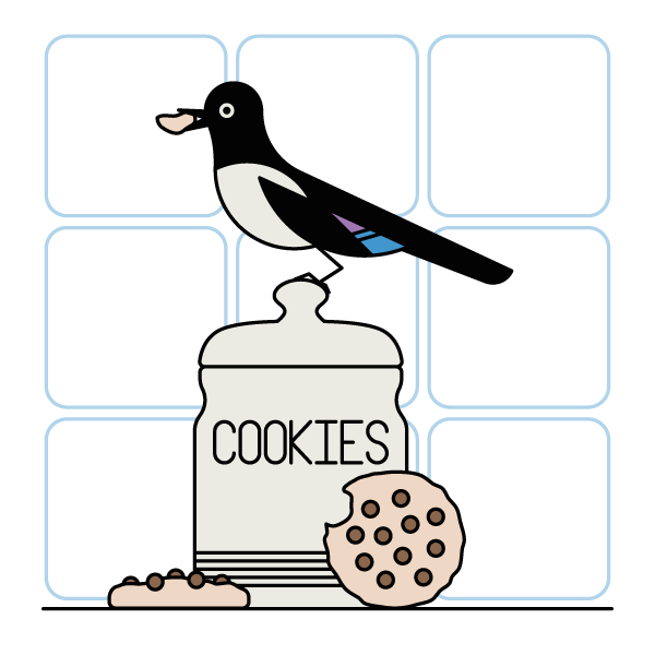 Cookies and notebook